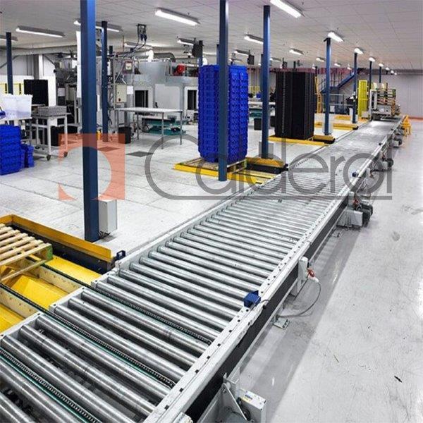 Fábrica de transportador de paletes
