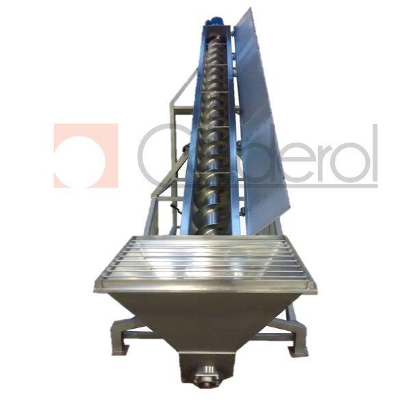 Rosca transportadora em aço inox