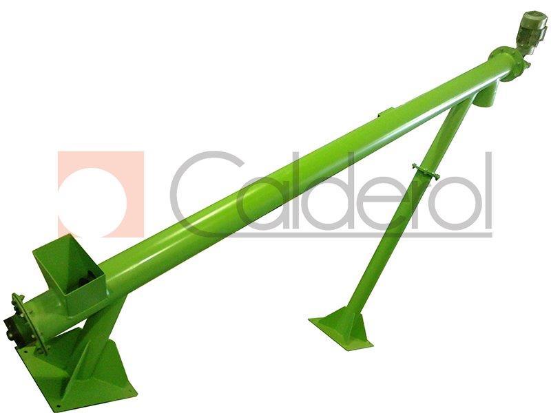 Rosca transportadora tubular